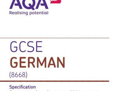 GCSE German  - Translation Foundation practice