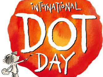 Dot Day September 15th. Story and Robert Delaunay Art Activity
