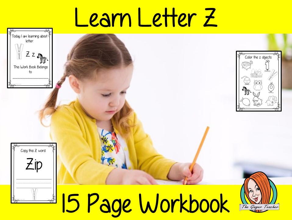 Alphabet Book Letter Z