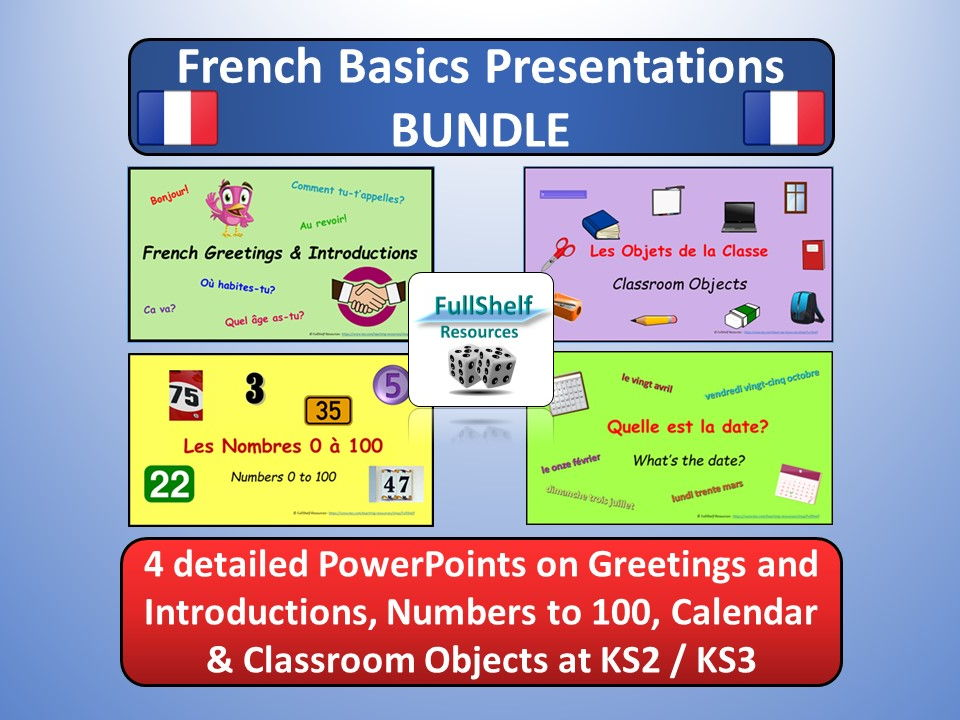 French Basics Presentations