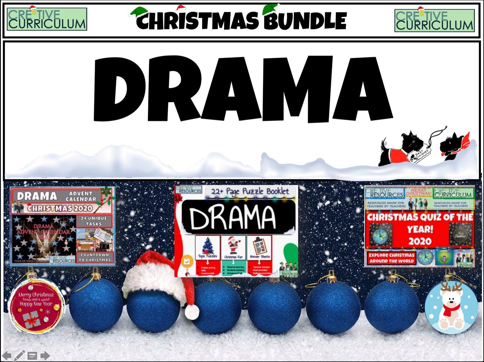 Drama + Christmas