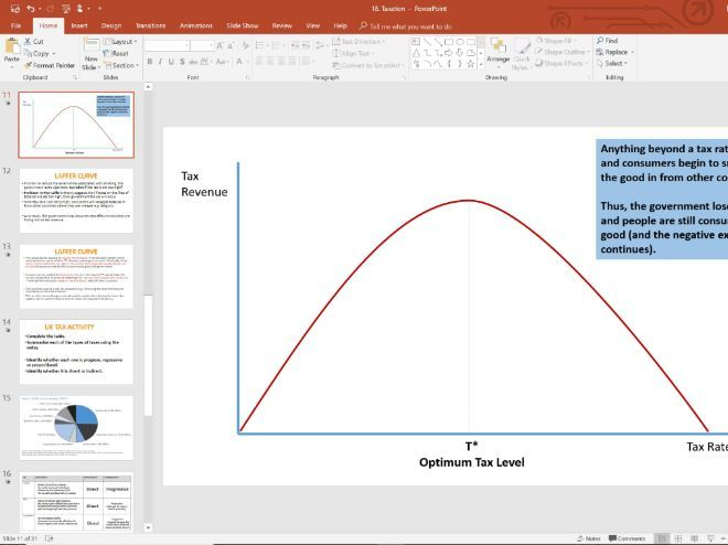 18. Taxation (Slides, Activities and Notes) - Edexcel A-Level Economics - Theme 4