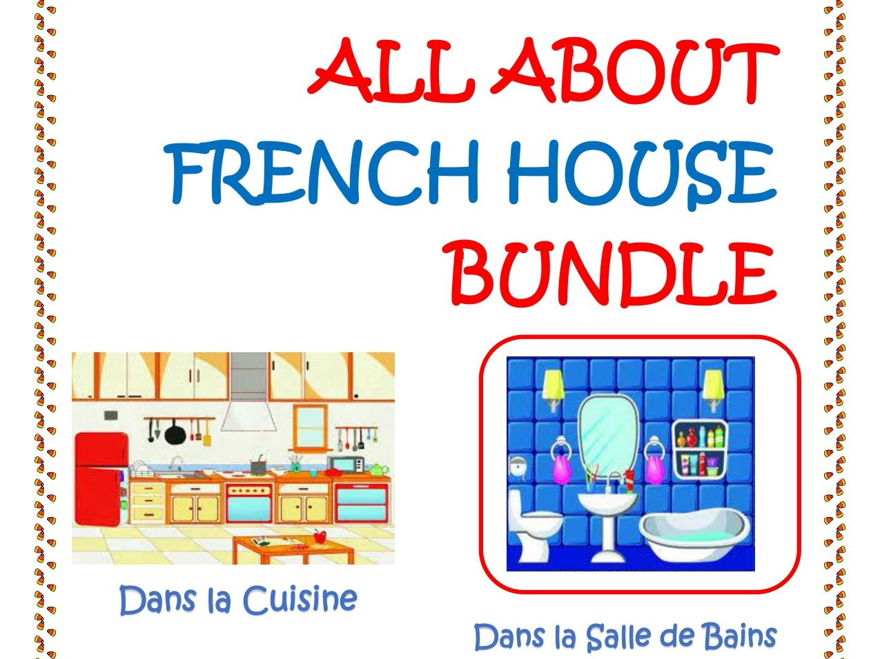 All about French House Distance Learning Worksheets.