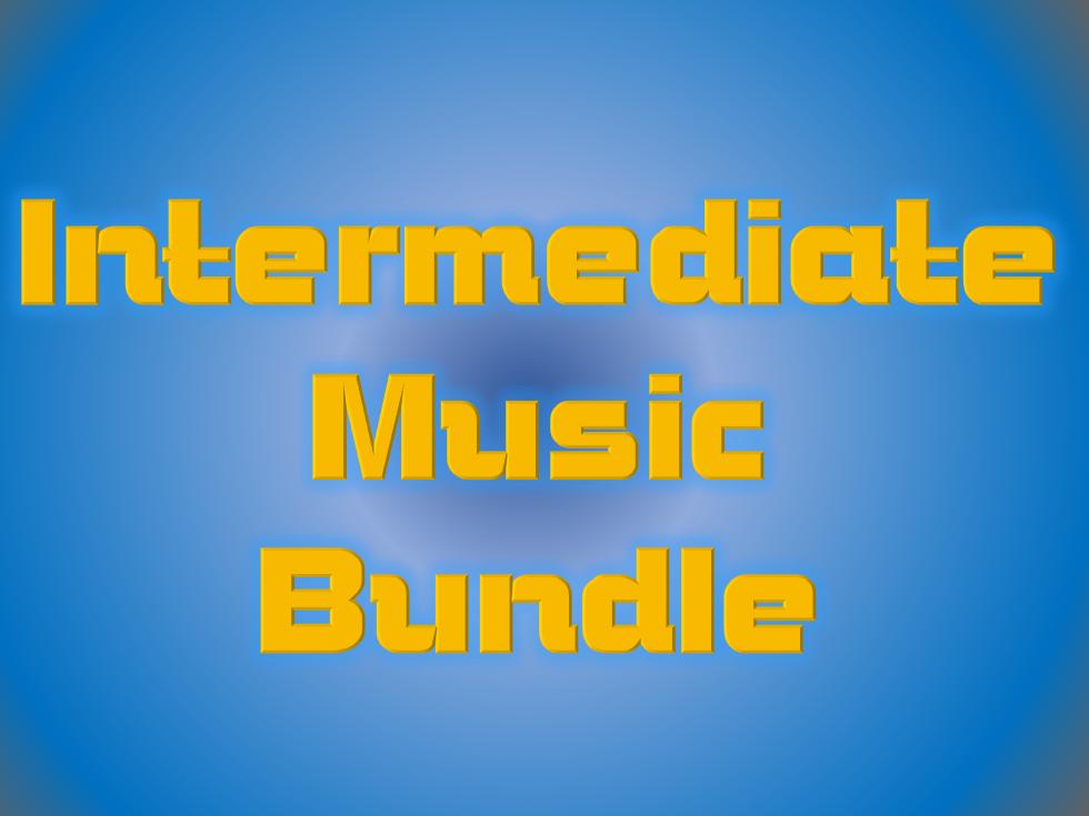 Intermediate Music Bundle