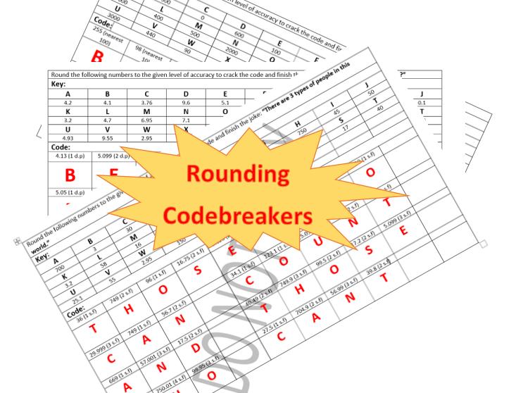 Rounding codebreaker activities