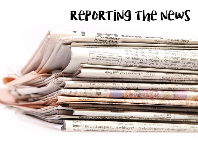 Creating a Newspaper Report - Upper KS2 & 3