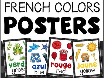 French Colours Posters