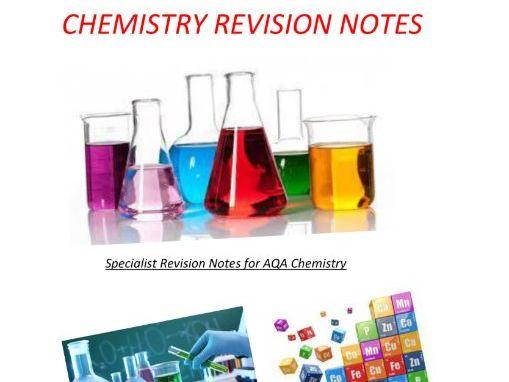C1 - C2 AQA Chemistry GCSE Revision Notes (Triple)