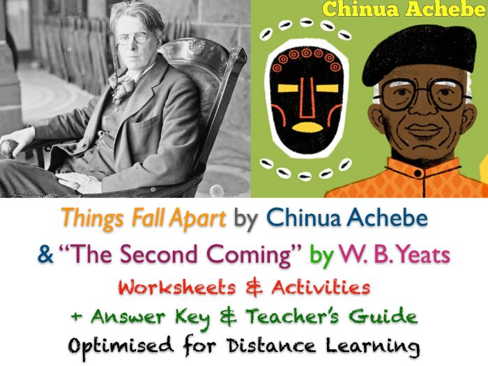 """W. B. Yeats: """"The Second Coming"""" & 'Things Fall Apart' (Achebe) + ANSWERS"""