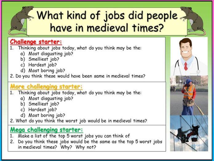 Medieval Jobs
