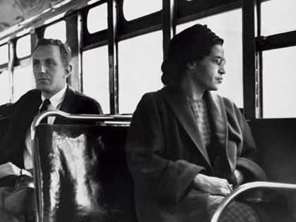 Rosa Parks and the Montgomery Bus Boycott, 1956