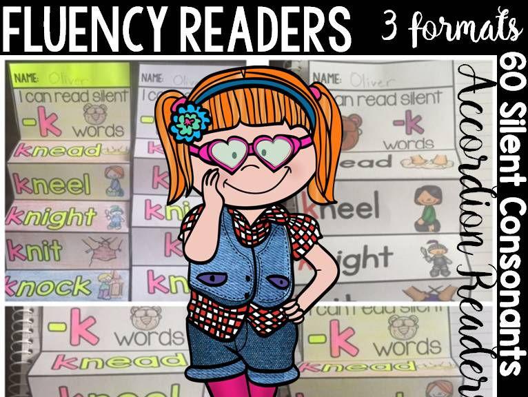 PHONICS: FLUENCY READERS: SILENT CONSONANTS
