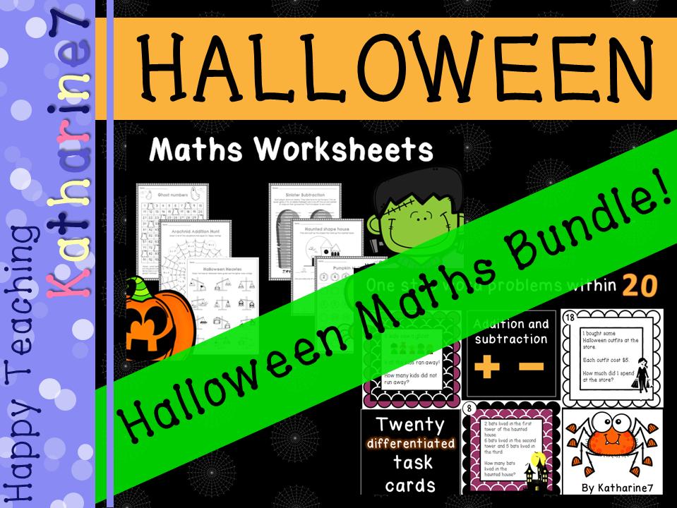 Halloween Maths Bundle