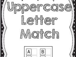 Uppercase Letter Match