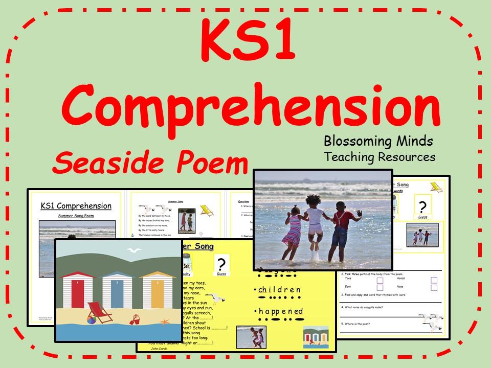 KS1 Comprehension - Seaside Poetry