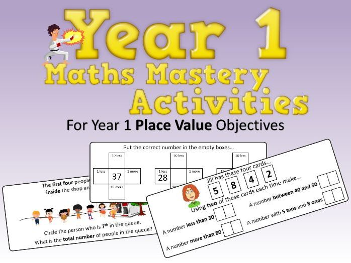 Place Value Mastery Activities – Year 1