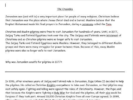 The Crusades: Introduction