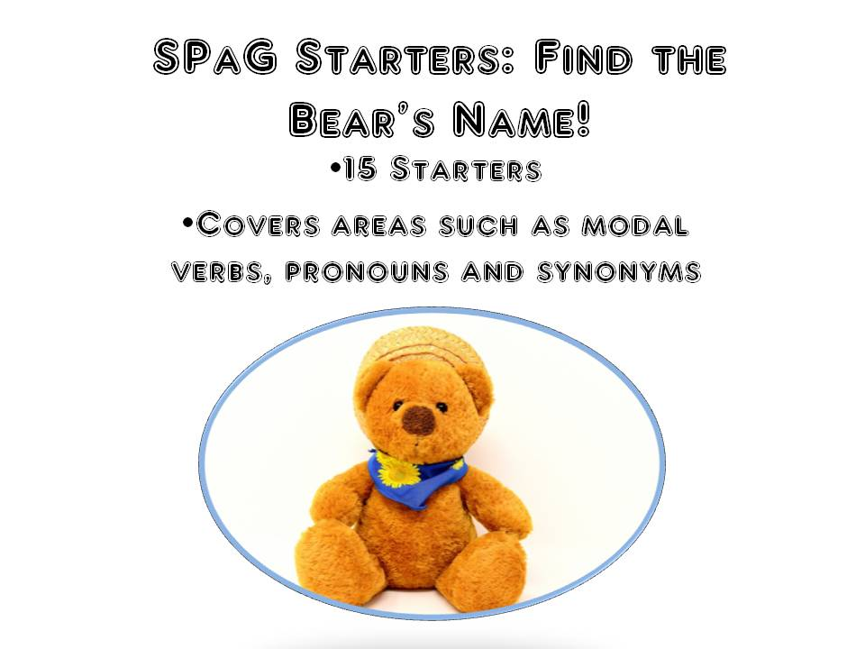 SPaG Starters Mystery Name