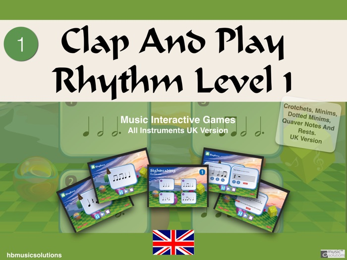 Clap And Play Rhythm Level 1
