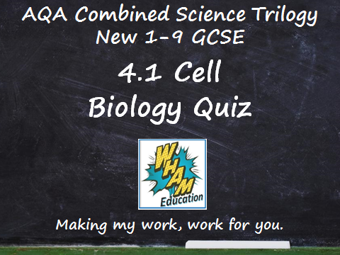 AQA Combined Science Trilogy: 4.1 Cell Biology Quiz