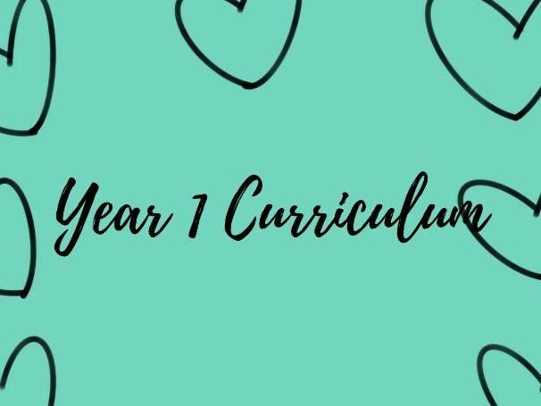 Year 1 Curriculum