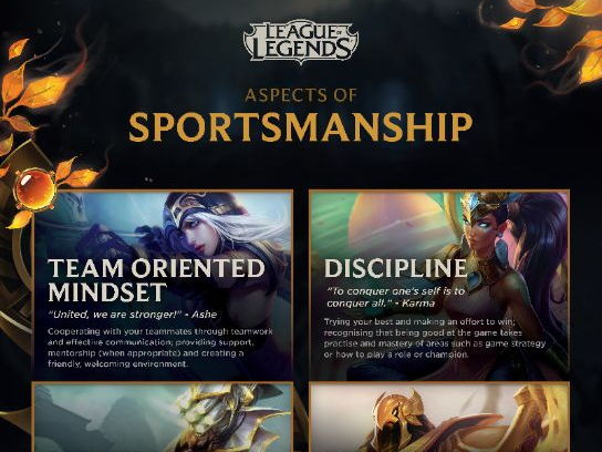 Sportsmanship learning materials