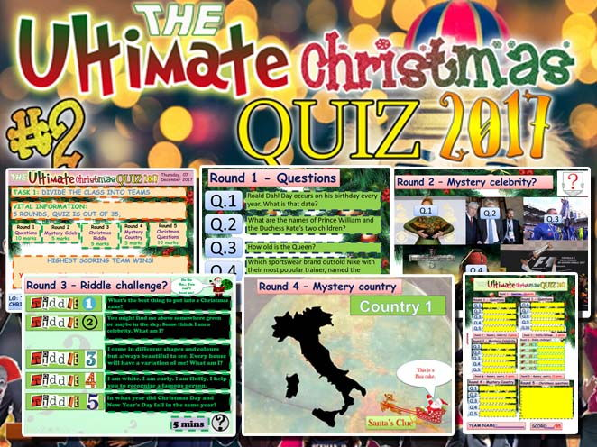 The Ultimate Christmas quiz #2