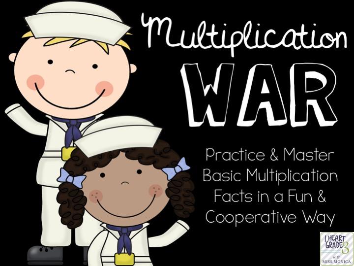Multiplication War Game