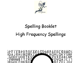 Spellings: Ten worksheets -copy/cover/check