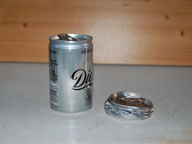 Forces - Compression Loading of Coke Can - Powerpoint Slides