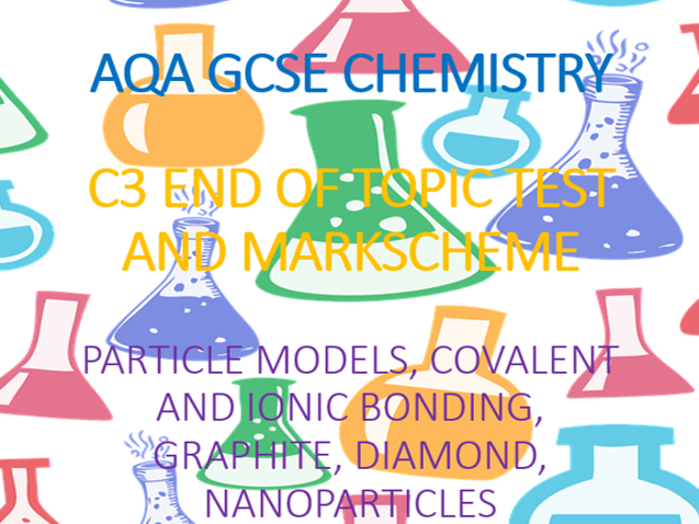 AQA GCSE Chemistry C3 End of Topic Test