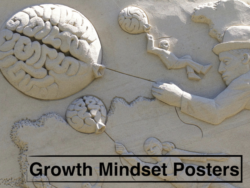 Growth Mindset Posters and PowerPoint Presentation