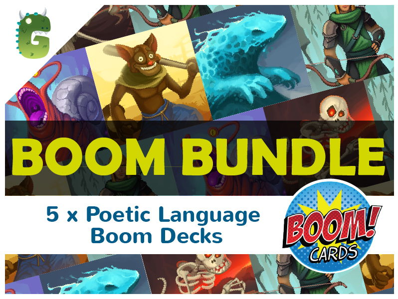Poetic Language  BOOM BUNDLE 1