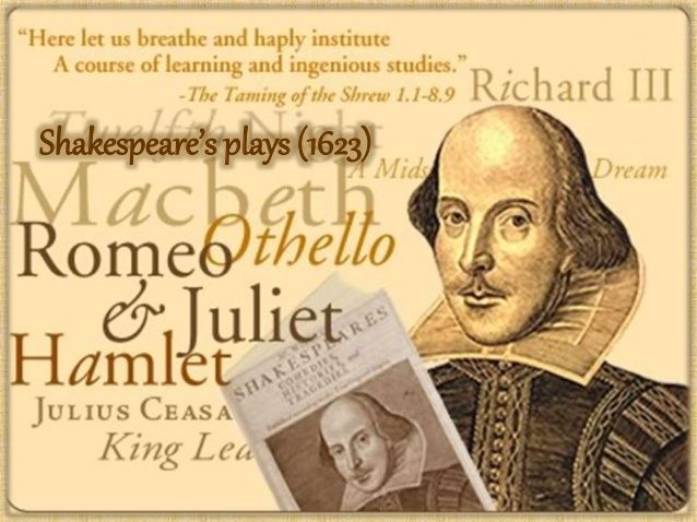 Thematic Shakespeare.