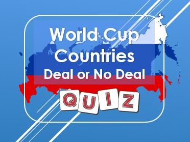 World Cup: Russia 2018: Deal or No Deal