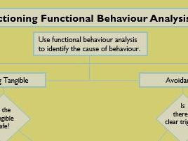SEND ALN Behaviour Planning- Actioning Functional Behaviour Analysis