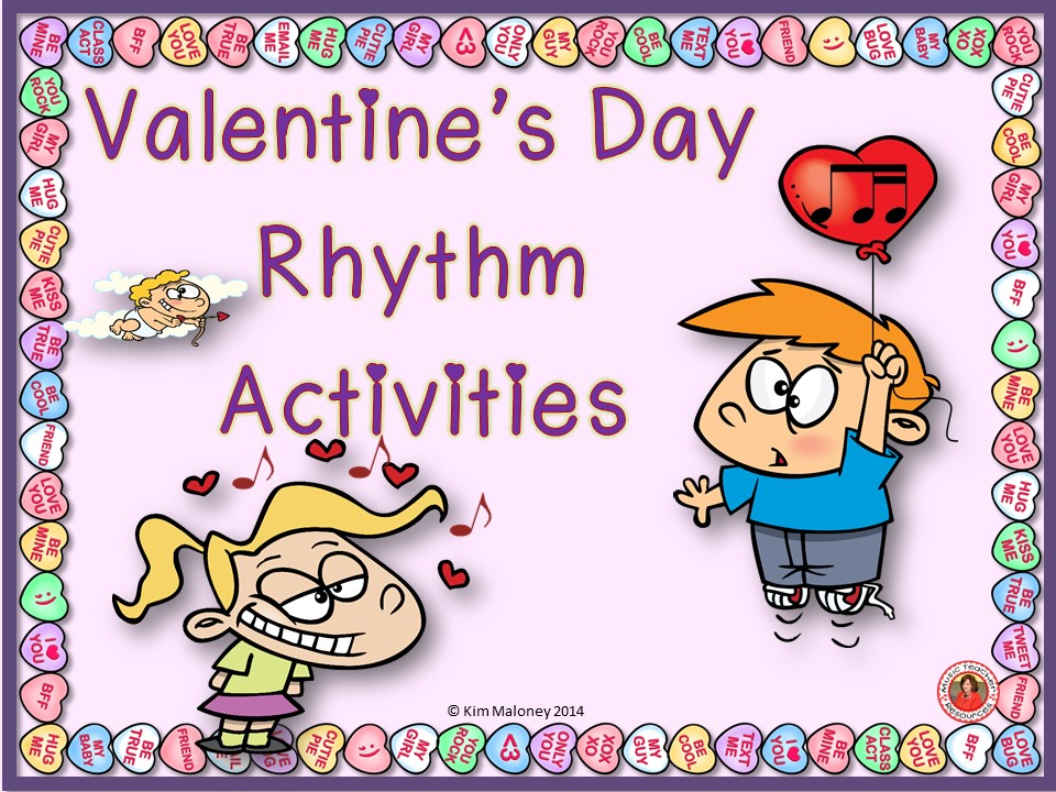 Valentine's Day Rhythm and Aural Activities