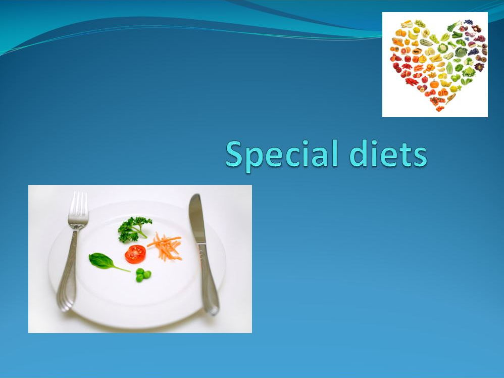 GCSE Food and Nutrition lesson bundle for special diets