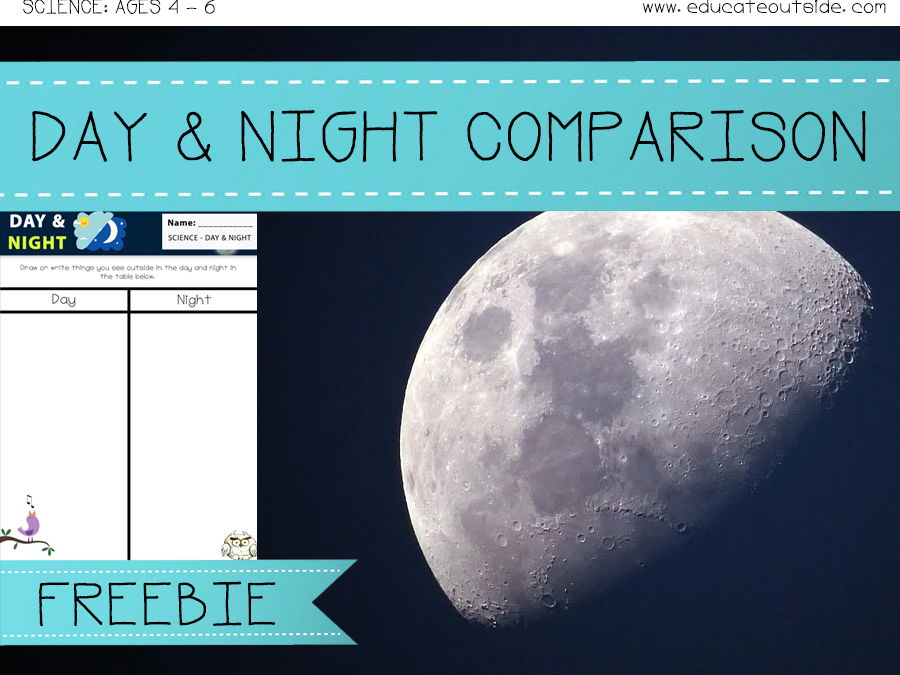 Day And Night Comparisons Outdoor Activity