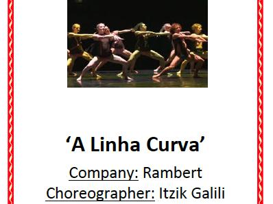 AQA GCSE Dance - A Linha Curva Booklet