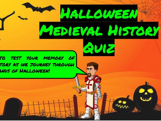 Halloween Medieval History Quiz