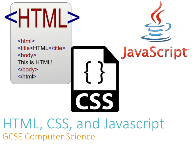 HTML, CSS and Javascript - Teacher Presentation
