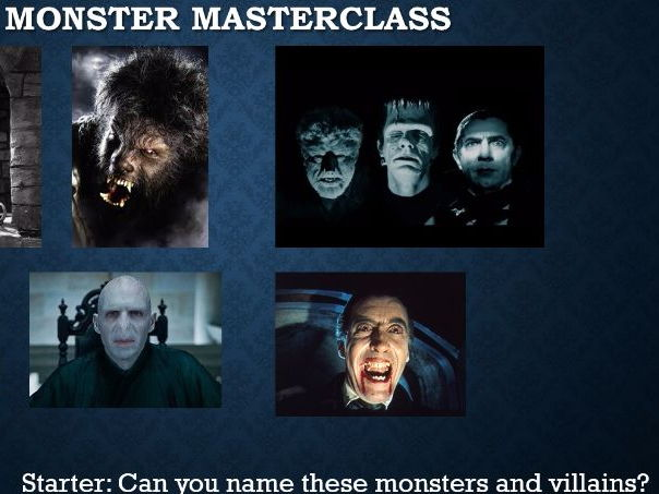 Creative Writing - Monster Masterclass
