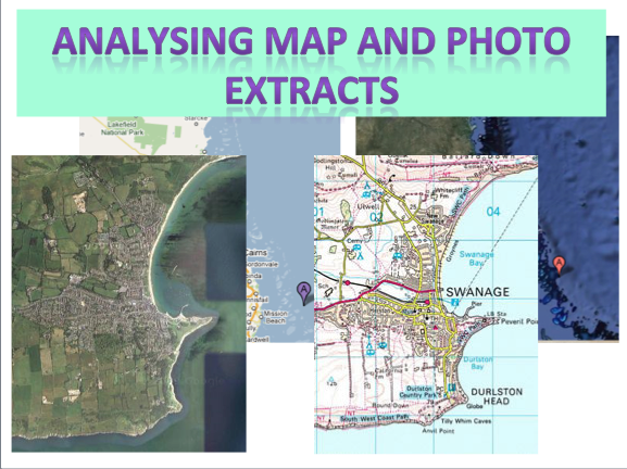 Analysing Map and Photo Extracts - Coastal Environments