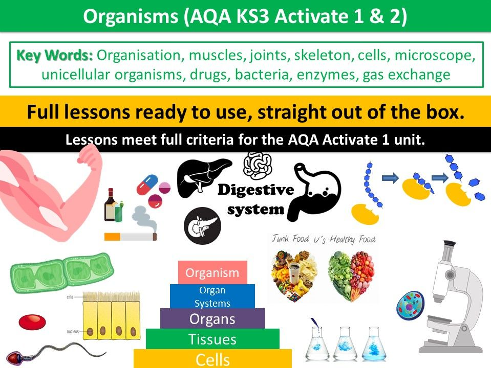 Organisms (AQA KS3 Activate 1 & 2)