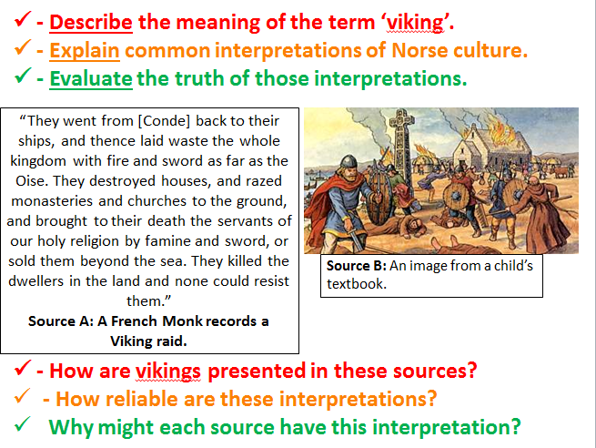 Viking Expansion Lessons 1-5 for OCR SHP B