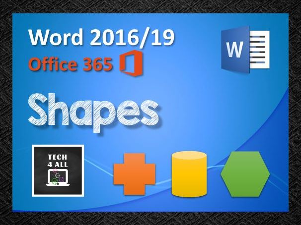 Shapes in Microsoft Word