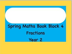 Fractions Unit of Work