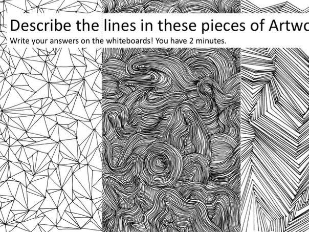 Line & Art FORMAL ELEMENTS FULL LESSON