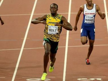 Usain Bolt - A real-life superhero